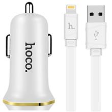 Hoco Z1 Car Charger With Lightning Cable