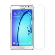 محافظ صفحه نمایش شیشه ای آر جی مناسب برای گوشی موبایل سامسونگ Galaxy On 7
