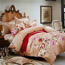 Dream Lilly 2 Person 4 Pieces Bedsheet Set