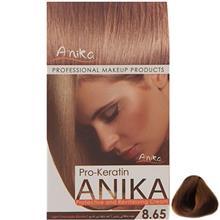 کيت رنگ مو آنيکا سري Pro Keratin مدل Chocolate شماره 8.65
