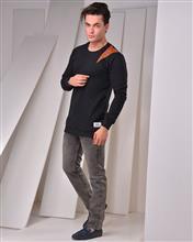 تی شرت مردانه آستین بلند MW مدل 1000