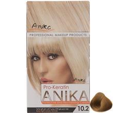 کيت رنگ مو آنيکا سري Pro Keratin مدل Smoky شماره 10.2