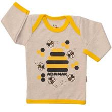 تي شرت آستين بلند نوزادي آدمک مدل Bee