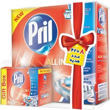 Pril All In 1 Dishwasher Tablets Pack Of 50