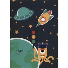Sam Aliens Design Homework Notebook