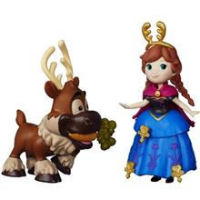 Hasbro Disney Frozen Little Kingdom Anna And Sven Figure