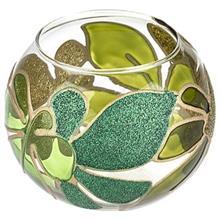 Anar Green Leaf Candlestick