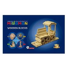 Midaman Wooden House 100 Pieces Intellectual Game
