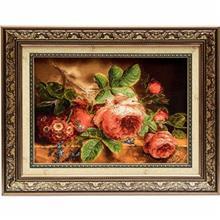 تابلو فرش گالری سی پرشیا طرح گل رز کد 901136
