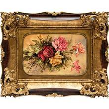 تابلو فرش گالری سی پرشیا طرح گل رز کد 901130