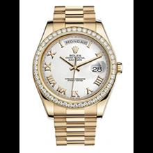 ساعت مچی رولکس اتوماتیک Rolex Day-Date II 41 Yellow Gold President Watch 218348