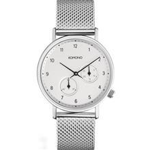 Komono Walther Silver Mesh Watch