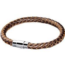 دستبند چرمی روزینی مدل MB13