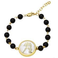 دستبند طلا ماهک مدل MB0118