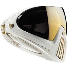 Dye i4 White Gold Paintball Goggle
