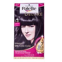 کیت رنگ مو پلت سری Deluxe مدل  Deep Natural Black شماره 1-0