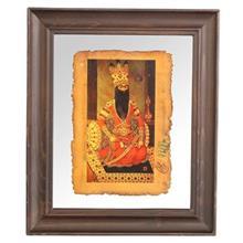 تابلوي نگارگري جمع کهنهکار کد 153026 طرح فتحعلي شاه نشسته