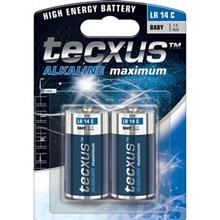 Tecxus Alkaline Maximum LR 14 C Battery - Pack Of 2