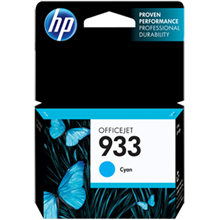 HP 933 Cyan Ink Cartridge