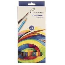 مداد آبرنگي 24 رنگ سونت