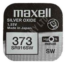 Maxell 373 Silver Oxide Battery For Watches