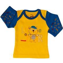 Adamak Little Bear Baby T Shirt With Long Sleeve