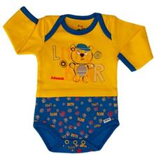 Adamak Little Bear Under Button With Long Sleeves
