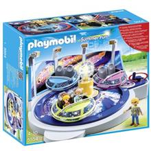 ساختني پلي موبيل مدل Spinning Spaceship Ride With Lights 5554