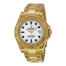 ساعت مچی مردانه رولکس مدل Rolex Yacht Master White Dial Automatic Mens Watch 168628