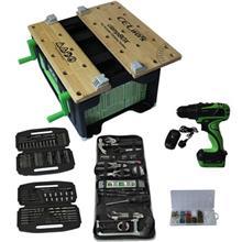 مجموعه ميز و ابزار کارگاهي قابل حمل سل مدل WQ1