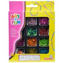 Simba Art And Fun Plastic Color Beads Set Educational Game