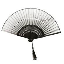 Spring Design Bambo Hand Fan-Pink