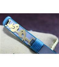 دستبند چرم زنانه کد109 گالری سان سیلور