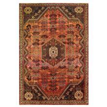 فرش دستبافت قديمي پنج و نيم متري کد 137687