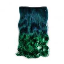 مو تکه ای دو رنگ  Clip in Hair Extension
