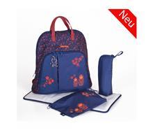 کیف لوازم سرمه ای قرمز - کوله پشتی برند OKIEDOG- کد39003