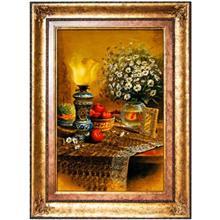 تابلو فرش گالري سي پرشيا طرح سفره هفت سين ايراني کد 901106