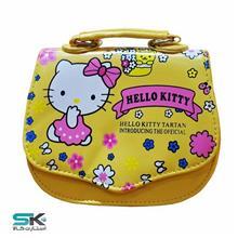 کیف دخترانه هلو کیتی-زرد