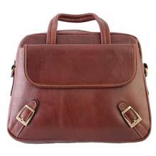 کیف دستی چرمی گالری مثالین کد 26015