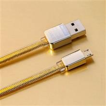 Remax Gold USB To microUSB Cable