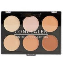 پالت رنگ 6تایی بیوتی تریت Beauty Treats Concealer Palette Six Shades Light