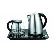 چای ساز با کتری استیل و صفحه لمسی سرجیو مدل STM-144SF