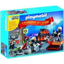 ساختني پلي موبيل مدل Advent Calendar Fire Rescue Operation 5495