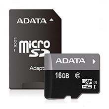 Adata MicroSDHC UHS-I Memory Card With Adapter – 128GB
