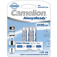 Camelion AlwaysReady 2100mAh Rechargeable AA Battery Pack of 2