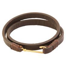 دستبند طلا 18 عيار  کابوک مدل 175007 طرح قلاب ماهيگيري
