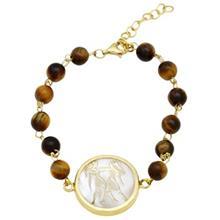 دستبند طلا ماهک مدل MB0117