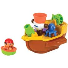 Tomy Pirate Ship Bath Toy Educational Kit
