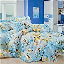 سرويس خواب کودک دريم مدل Lovely Friends سايز 100x130