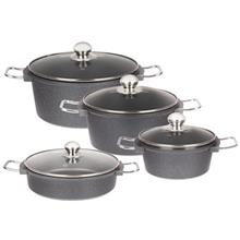 Matex 8 Pieces Cookware Set